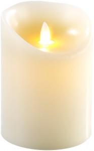 Echtwachskerze-Licht