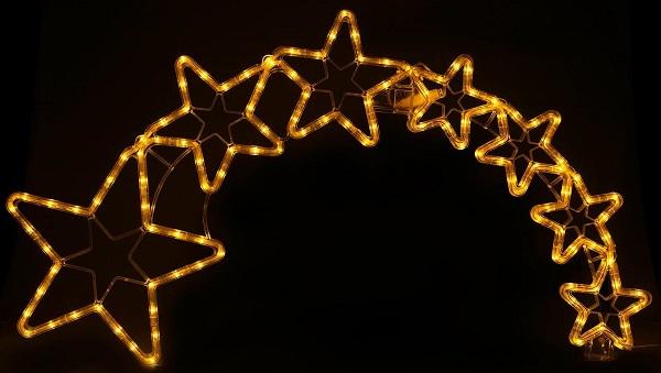 Lunartec-Weihnachtsdeko-Kometenschweif-Test